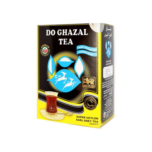 Do Ghazal Schwarzer Tee - Earl Grey